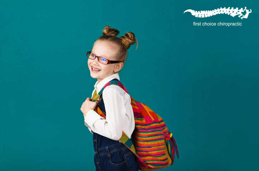 First Choice Chiropractic Chiropractor Brisbane Happy School Kid