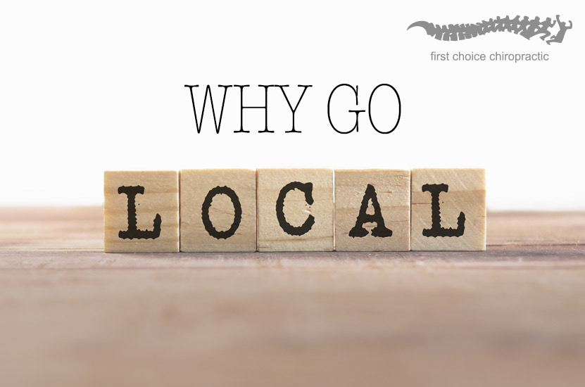 Why Go Local Chiropractor Brisbane